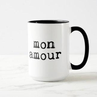 Typewritten Mon Amour Mug