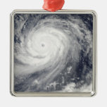 Typhoon Choi-wan west of the Mariana Islands Metal Ornament