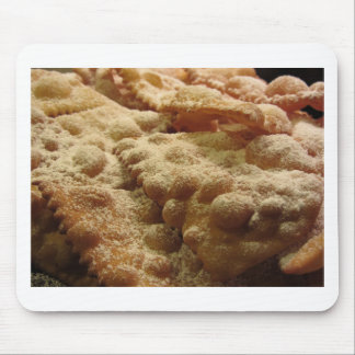 Typical italian carnival sweets mouse pad