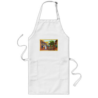Typical of Early Los Angeles - Olvera Street Long Apron