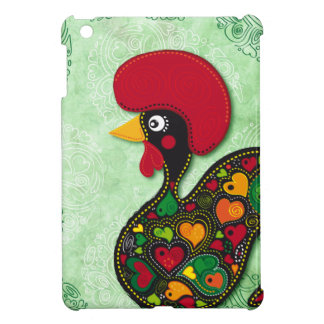 Typical Rooster of Barcelos iPad Mini Cases