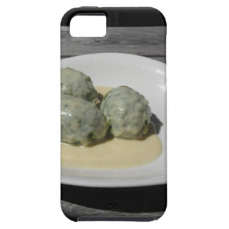 Typical South Tyrolean dish of canederli pasta iPhone 5 Case