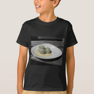 Typical South Tyrolean dish of canederli pasta T-Shirt