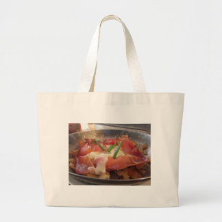 Typical South Tyrolean dish served pan fried Large Tote Bag