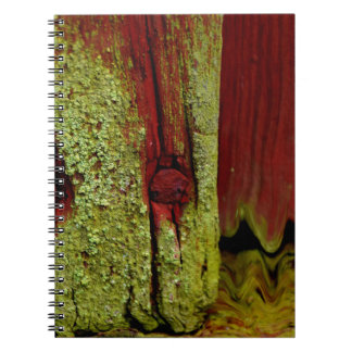 Typical Swedish Falun red color, very popular in S Spiral Note Book