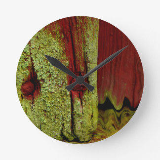 Typical Swedish Falun red color, very popular in S Wall Clocks
