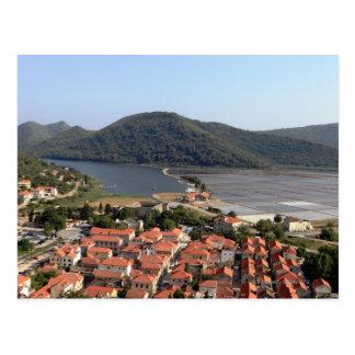 typical village in CROATIA Postcard