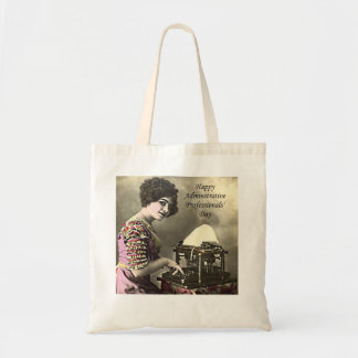Typist Administrative Professional Day Vintage Pho Tote Bag