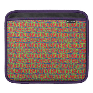 Typographic Graffiti Pattern iPad Sleeve