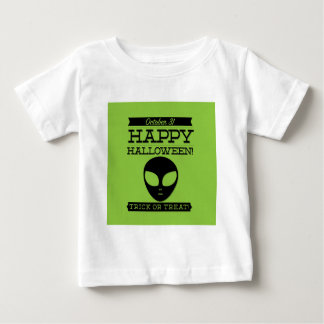 Typographic retro Halloween Baby T-Shirt