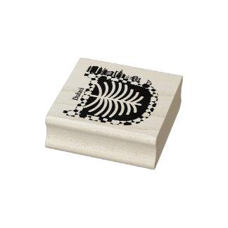 Typography D (Dubai: UAE) Stamp
