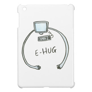 Typography e-hug computer hug iPad mini covers