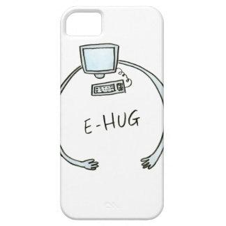 Typography e-hug computer hug iPhone 5 cover