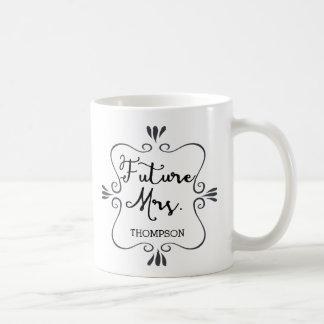 Typography Future Mrs Coffee Mug