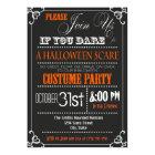 Typography Halloween Party Invitation