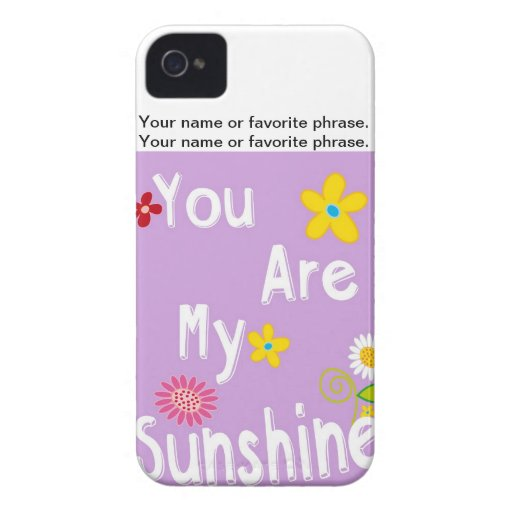 Typography motivational phrase - Pastel Lavender iPhone 4 Cover