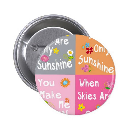 Typography Motivational Phrases - Collage Button