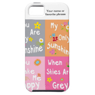 Typography Motivational Phrases - Collage iPhone 5 Cases