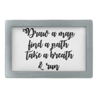 Typography Quote Life Travel Inspirational Gift Belt Buckles
