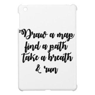 Typography Quote Life Travel Inspirational Gift iPad Mini Case