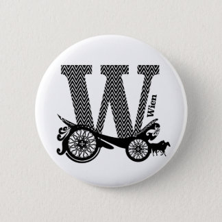 Typography W(Wien: Austria) Button