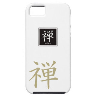 """Typography """"Zen """" of Chinese character iPhone 5 Covers"""