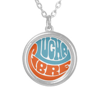 Typoluchaphy21 Silver Plated Necklace