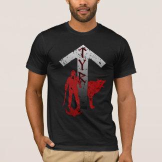 Tyr and Fenrir Rune Shirt