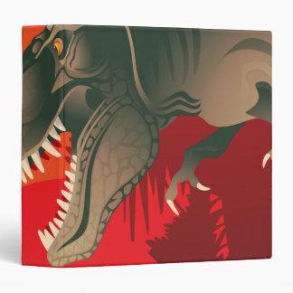tyranasarus rex notebook vinyl binder
