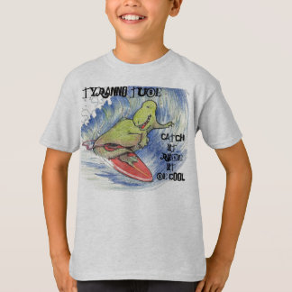 Tyranno Tube surf design T-Shirt