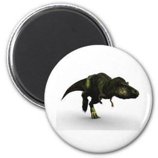 tyrannosaurus-1 2 inch round magnet
