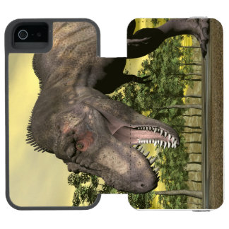 Tyrannosaurus angry - 3D render Incipio Watson™ iPhone 5 Wallet Case