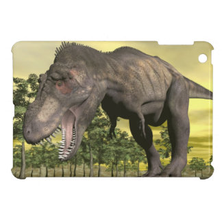 Tyrannosaurus angry - 3D render iPad Mini Covers