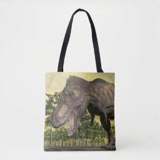Tyrannosaurus angry - 3D render Tote Bag