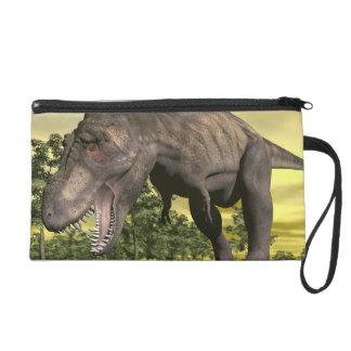 Tyrannosaurus angry - 3D render Wristlet