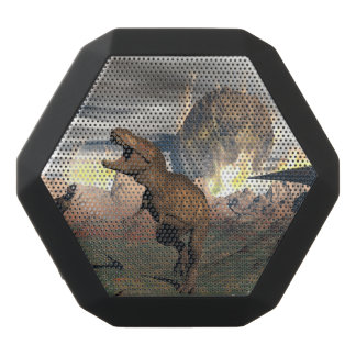 Tyrannosaurus dinosaur exctinction - 3D render Black Bluetooth Speaker