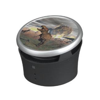 Tyrannosaurus dinosaur exctinction - 3D render Bluetooth Speaker