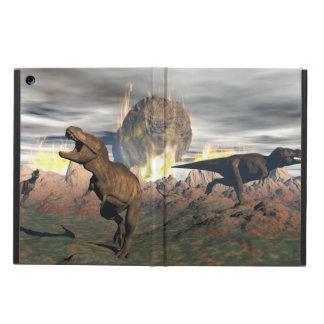 Tyrannosaurus dinosaur exctinction - 3D render Cover For iPad Air