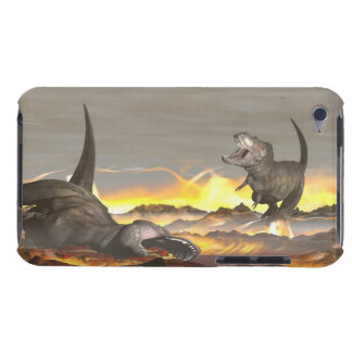 Tyrannosaurus dinosaurs exctinction - 3D render Barely There iPod Cases
