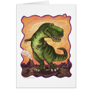 Tyrannosaurus Gifts & Accessories Card