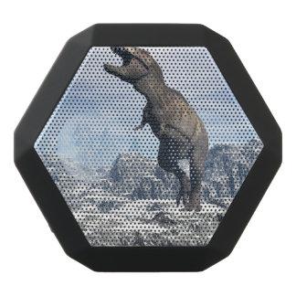 Tyrannosaurus in the snow - 3D render Black Bluetooth Speaker