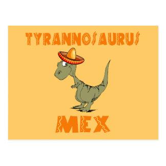 Tyrannosaurus Mex Postcard