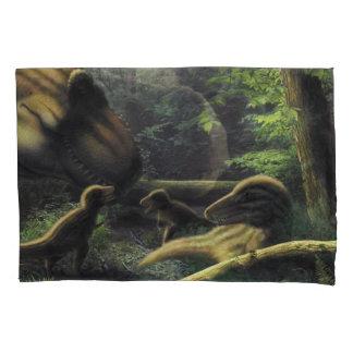 Tyrannosaurus Pillow Case Pillowcase