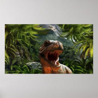 tyrannosaurus-rex-284554 tyrannosaurus rex dinosau poster