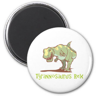 Tyrannosaurus Rex #2 2 Inch Round Magnet