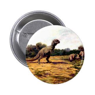 tyrannosaurus rex 2 inch round button