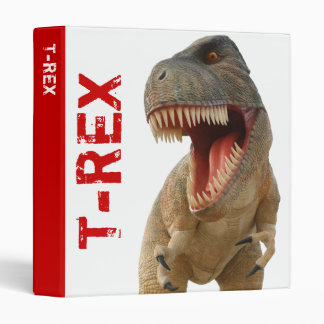 Tyrannosaurus Rex 3 Ring Binder