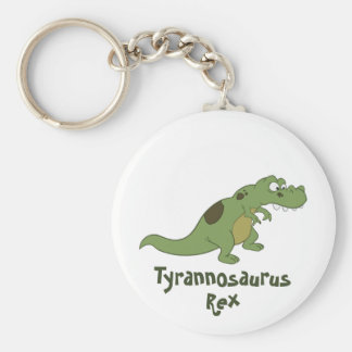 Tyrannosaurus Rex Cartoon Keychain