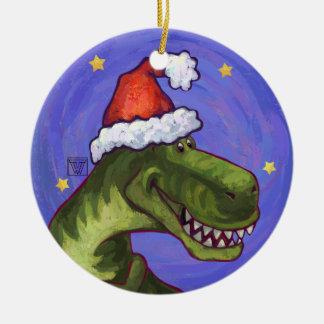 Tyrannosaurus Rex Dino Christmas Ornament