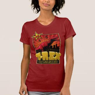 Tyrannosaurus Rex Dinosaur 2009  Invasion T-Shirt